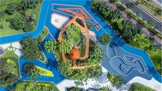 Landscape Architecture, Landscape Design, Kids Outdoor Spaces, Kids Play Equipment, Playground Design, Amusement Park, Kids Playing, Playgrounds, Layout