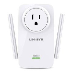 Linksys RE6700 AC1200 Amplify WiFi Range Extender with 3.5mm Audio Output