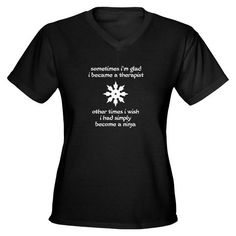 I have always said that I am a brain-ninja-in-training!!! I MUST buy this shirt!
