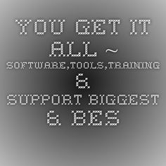 You Get It All ~ Software,Tools,Training & Support Biggest & Best Tax Write-off Is Home Based Business https://outloud.us/LuAnn
