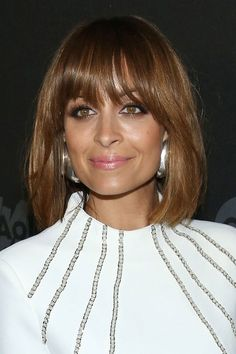Celebs are going bonkers for bangs right about now, Nicole Richie being the latest celeb to funk things up with a fab new fringe.