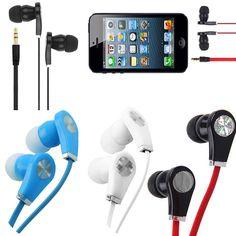 3.5mm Stereo In Ear Headphone Earphone Earbud Headset For PC Universal Phone #Unbranded