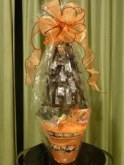 Halloween Hershey Bar Tree made by MKK
