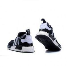 b27f9c9d2 Adidas NMD Runner black White for mens