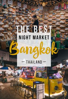 What to See At the Night Market in Bangkok, Thailand / Ideas for Bangkok Bangkok Itinerary, Bangkok Travel Guide, Thailand Travel Tips, Asia Travel, Beach Travel, Laos Travel, Croatia Travel, Hawaii Travel, Japan Travel