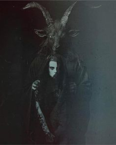 Creepy Beautiful Art Macabre 54 New Ideas Baphomet, Arte Horror, Horror Art, Black Phillip, Satanic Art, Arte Obscura, Occult Art, Creepy Art, Dark Photography