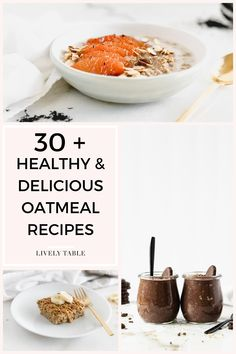 Think oatmeal is boring? If eating oatmeal feels like a chore, I'm here to help! Enjoy this nutritionist approved staple for breakfast in so many ways with these healthy and delicious oatmeal recipes, with everything from overnight oats to baked oatmeal!