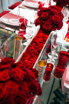 Valentines Day Party Ideas, Red Decorations || Colin Cowie Weddings