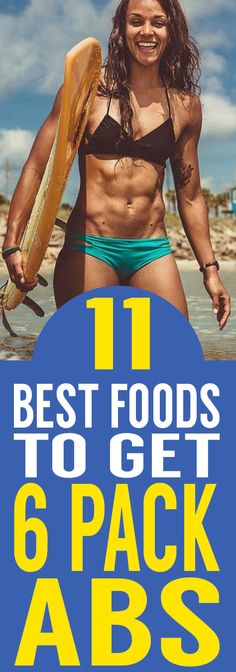 Nosh on these foods to expose the six-pack within.