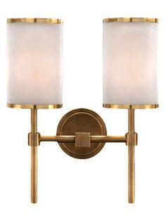 Modern Brass Wall Sconce by John Richard at Gilt