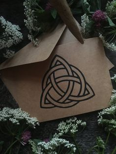 Handmade cards with Celtic knotwork — NorneWoven Kraft Paper, Celtic, Greeting Cards, Reusable Tote Bags, Birthday, Prints, Handmade, Birthdays, Hand Made