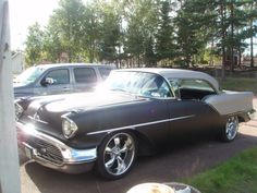 "My 57 Oldsmobile Holiday Coupe 88 (a ""before"" picture)"