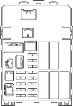 2010 toyota highlander fuse panel diagram custom wiring diagram u2022 rh littlewaves co 2017 toyota highlander fuse box diagram 2006 toyota highlander fuse box diagram