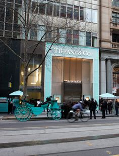 Diamonds are a girl's best friend.  Tiffany & Co Melbourne