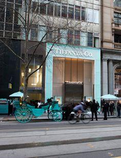 Diamonds are a girl's best friend.  Tiffany & Co Melbourne