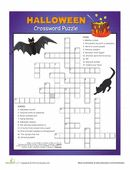 Step right up, Halloween experts! This creepy crossword puzzle is jam-packed with spooky clues and maddening monsters. Can you crack this challenging puzzle?