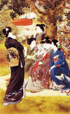 鏑木清方 Kiyokata Kaburagi (1878-1972)「とつぐ人」