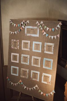 bunting table plan | www.onefabday.com
