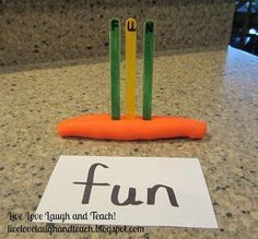 Great ideas for practicing sight words! Use recorded voice on an iPod to hear the word