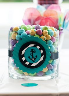 Set of 12 Anchor Nautical Jumbo Party Favor by PartyPlanItDesigns, $12.00