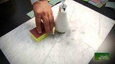Como abrillantar marmol a mano  !!Funciona¡¡