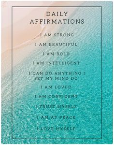 You are Miraculously BOLD! Check out these daily affirmations. self help better yourself love yourself how to find yourself self love self love ideas self happiness how to self motivate how to love yourself self love affirmations happiness self affirmations positive positive affirmation self confidence self worth affirmations manifestation confident affirmations self affirmations inspiration self care beauty inspiration motivationals beatuy beach water ocean paradise
