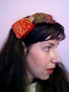 Red Headband, Big Bows, Captain Hat, My Etsy Shop, Trending Outfits, Unique Jewelry, Handmade Gifts, Crochet, Hats