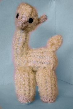 How to Loom Knit an Alpaca