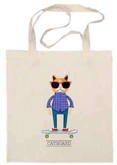 catboard bag www.sashadasha.com