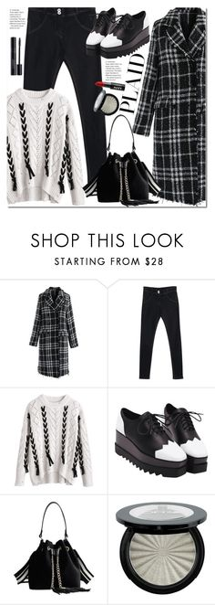 """""""Check It: Plaid"""" by duma-duma ❤ liked on Polyvore featuring Chicwish, NYX and plaid"""