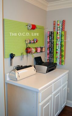 The O.C.D. Life: Organizing Wrapping Paper!