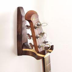 Wooden Guitar Wall Hanger | dotandbo.com