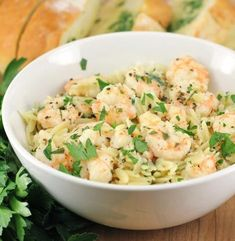 Lemon Pepper Shrimp Scampi with Orzo   Simple Dish   Quick, Easy, & Healthy Recipes for Dinner