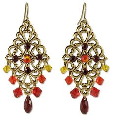 E1026 - Sunflower Earring Project - Only at... JewelrySupply.com