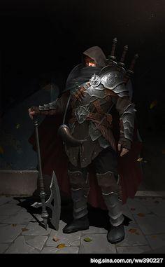 Mercenaries, Wu Wei on ArtStation at https://www.artstation.com/artwork/XaQYn