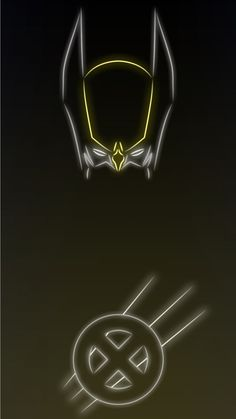 Wolverine. Tap to see more Superheroes Glow With Neon Light Apple iPhone 6s Plus HD wallpapers, backgrounds, fondos. - @mobile9