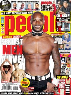 People Magazine is your hottest weekly fix of celebrity news from South Africa, Hollywood and cyberspace.