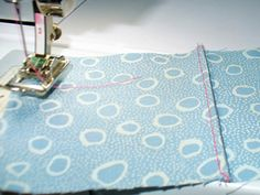 "french seam -- first pass = use a zig-zag stitch -- 2nd pass = enclose ""first pass"" seam as usual"