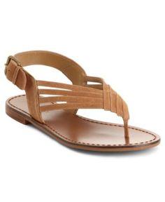 tan sandals, Nine West