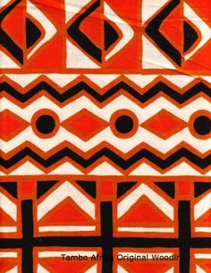 African fabric by the yard by Vlisco.
