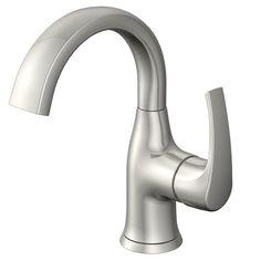 Bathroom Faucets Lowest Price moen eva single hole single handle high-arc bathroom faucet in