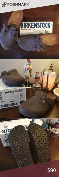 NIB Birkenstocks Style Boston NIB Birkenstocks Style Boston Brand New! Birkenstock Shoes