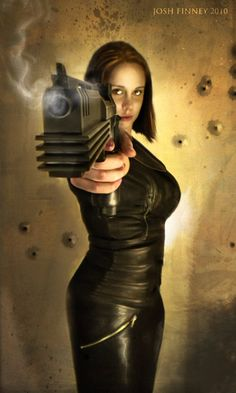 The gun looks pretty dieselpunk. Jamie Chung, Sucker Punch, Military Pins, Shadowrun, Art Graphique, Dieselpunk, Up Girl, Illustrations, Girl Pictures