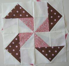 Pinwheel Sampler Block Four