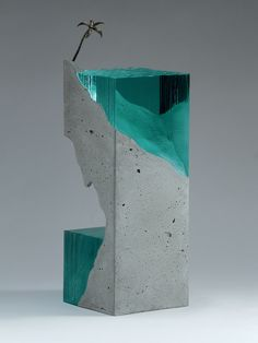 New Ocean-Inspired, Hand-Cut, Layered Glass Sculptures by Ben Young - My Modern Met