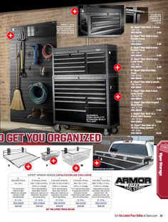 Viper Brand Tool Storage, See Black Slat Wall 12x48 Panels For Hanging  Tools. Via