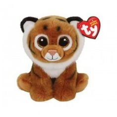 df27073c9e1 Welcome the new generation of Beanie Babies into your heart with this  adorable toy showing off a tiger design. The plush material makes this new  friend ...