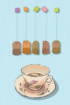I like the idea of the hanging tea bags :/