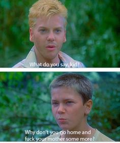 Stand By Me oh snap 80s Movies, Great Movies, Movie Tv, River Phoenix, Tv Quotes, Movie Quotes, About Time Movie, All About Time, King Kong