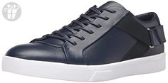 Calvin Klein Men's Italo Fashion Sneaker, Navy, 12 M US (*Amazon Partner-Link)